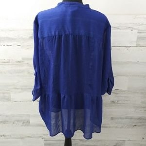 Just My Size Tops - Just My Size 3/4 sleeve blouse 3X